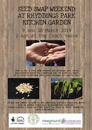 if you can t make the seed swap but have unwanted seeds that you would like to donate they will be gratefully received