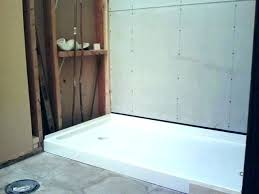swanstone shower bases pans base installation instructions stone pan by reviews drain assembly