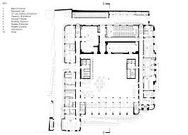 wilkinson eyre inserts contemporary details into oxford university ground floor plan click for larger image