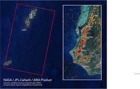 Nasas Aria Damage Proxy Map Shows Devastating Damage From
