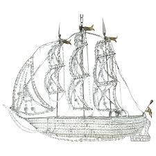 crystal ship chandelier pirate for