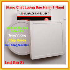 Đèn Led Ốp Trần Nổi 24W-18W Tròn/Vuông Siêu Sáng - Tiết Kiệm Điện Năng [Bảo  Hành 1 Năm]