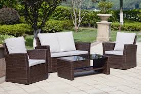 Image of: Rattan garden furniture set. jpg