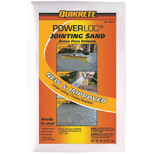 Quikrete Sand Topping Mix Coverage Chart Quikrete Powerloc Jointing Sand 115047 Do It Best