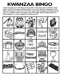 Kwanzaa Free Coloring Pages