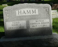 Cornelia Dogger Hamm (1859-1941) - Find A Grave Memorial