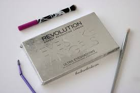 like angels eye palette from brand makeup revolution this palette conns vibrant and pigmented 32 shades which can be used for diffe occasion