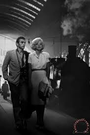 james dean and marilyn at the station painting chris consani james dean and marilyn at