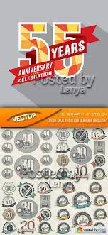 Anniversary Certificate Template Amazing Stock Vector Certificate Template With Retro Design For