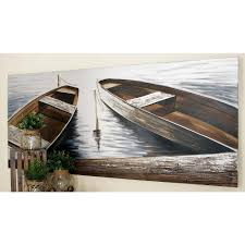 32 in x 71 boats by the quay canvas wall art unknown on boat canvas wall art with boat wall art wall designs
