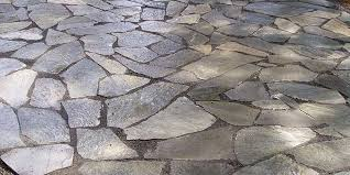 flagstones are a great patio material but are often the most expensive choice as they