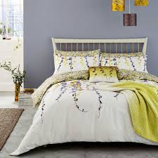boston ivy sulphur yellow bedding
