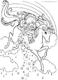 Coloring Page Unicorn Pegasus Coloring Pages Of Unicorns And Page