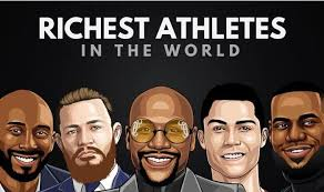 the 20 richest athletes in the world