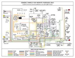 ford color wiring diagram classiccarwiring sample color wiring diagram