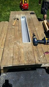 picnic table with cooler picnic table with built in cooler picnic table with cooler in middle plans