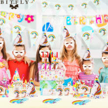 Birthday Decoration <b>Unicorn</b> Napkins Promotion-Shop for ...