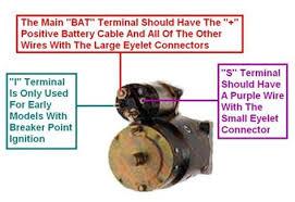 chevrolet starter solenoid wiring
