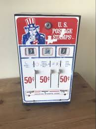 Stamp Vending Machine Location New Stamp Vending Machine From US From The 48s Catawiki