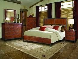 rustic style bedroom furniture rustic. Shabby Chic Brown Interior Tile Floor For Rustic Bedroom Furniture With Dashing Window Treatments Style