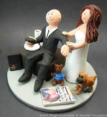 Playstation Wedding Cake Topper