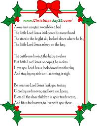 Christmas Carols Lyrics - Christmas Day 25