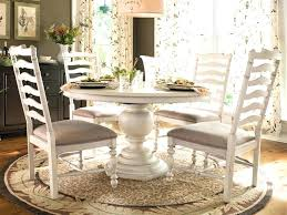 White Pedestal Dining Tables Round Pedestal Kitchen Table Home