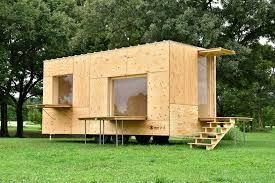 Small Picture Jyubako A Basic Tiny House on Wheels by Kengo Kuma