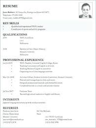 Sample Of Resume For Abroad Sample Of Resume Application College Application Resume Sample