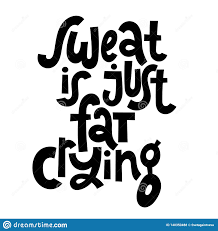 Fitness Motivational Quotes Stock Vector Illustration Of Goal