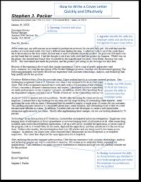 amazon cover letter how to write an employment cover letter quickly and