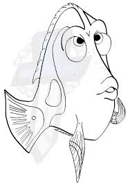 Small Picture dory coloring page by Areonn on DeviantArt