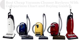 Vacuum Comparison Chart Best Cheap Vacuum Cleaner Reviews With Comparison Chart And