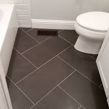 Bathroom Floor Tile Design Patterns Custom 48x48 Tile Bathroom Floor Could Use Same Tile But Different Design