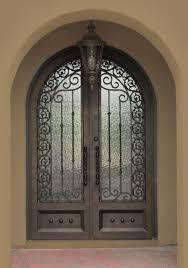 iron front doors. Iron Entry Doors Mediterranean-exterior Front E