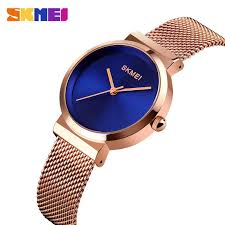 <b>SKMEI</b> Elegant <b>Women</b> Quartz Watch <b>Fashion Simple</b> Design Water ...