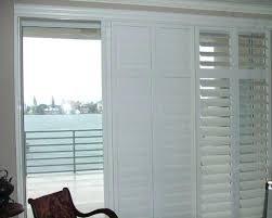 plantation shutters for sliding door save hunter douglas plantation shutters for sliding glass doors cost