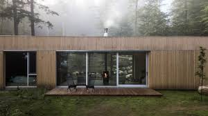 dworkind is a hideaway in quebec woodland