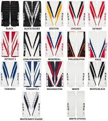 Ccm Goalie Pad Sizing Chart Ccm E Flex 3 9 Pads Intermediate Hps Sport Shop