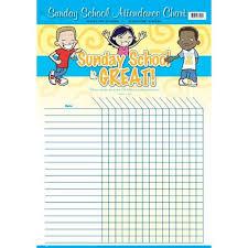 Sunday School Attendance Chart Free Printable Free Sunday School Attendance Forms Attendance Chart