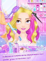 hair fashion s makeup dressup and makeover games screenshot 9