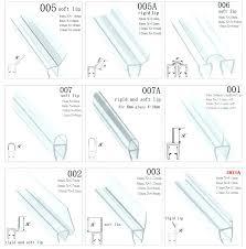 magnetic weather strip glass shower door weather stripping sliding sealing strips magnetic seal rubber strip