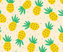 Pineapple Pattern Magnificent Funny Pineapple Pattern Vector Art Graphics Freevector