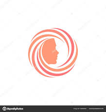 Shampoo Logo Design Hair Care Product Logos Circular Logo With A Face Inside