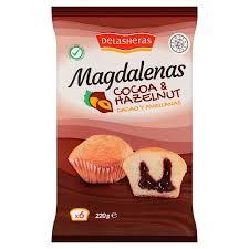 Delasheras Fairy Cakes With Chocolate And Hazelnut Cream Filled 220
