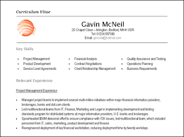 curriculum vitae layout template presentation cv format korest jovenesambientecas co