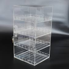 E Liquid Display Stand Retail Display Case Clear Plastic Bottle Holder 100ml 100ml Liquid 67