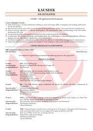 IOS Developer Sample Resume