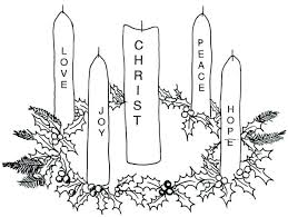 Advent Coloring Pages Catholic Advent Coloring Pages Wreath Page