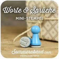 Mini Stempel Zeichen Worte Sprüche 240